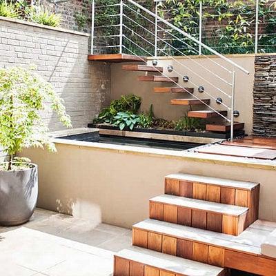 Bright patio