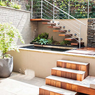 Bright patio