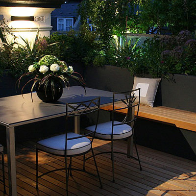 Modern patio